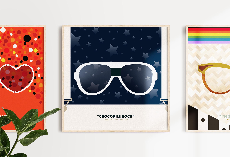 Rocketman Poster Series
